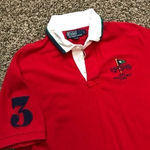 Ralph Lauren Shirts - Vintage Ralph Lauren Yacht Club Polo